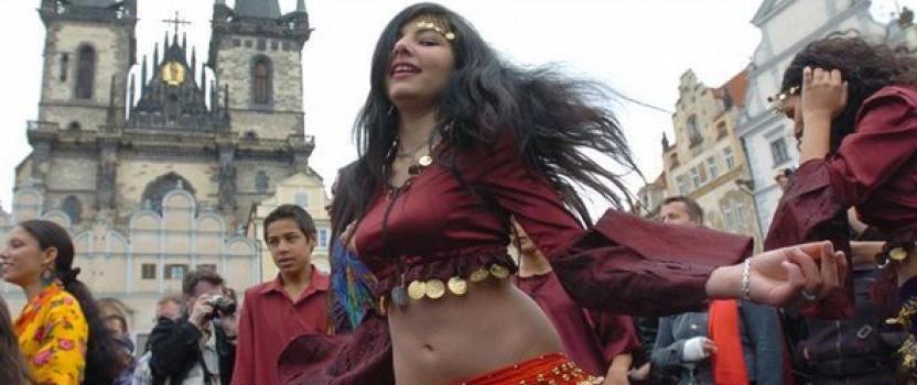 Menil en el Festival de Khamoro (Praga)